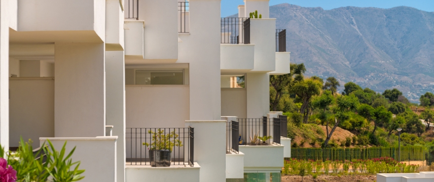 In the hills of Elviria - brand new contemporary apartments as of €178000